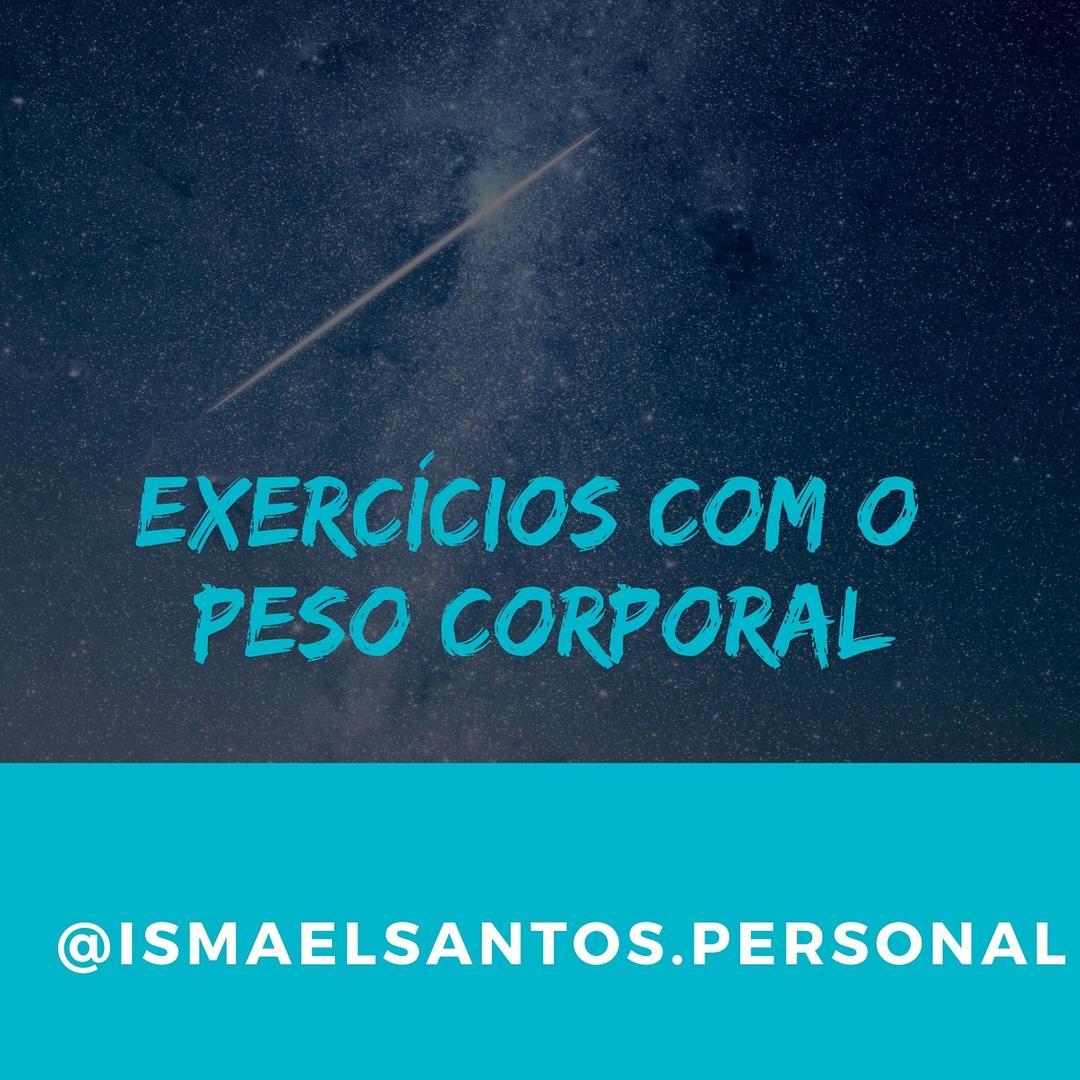 Exercícios com o peso corporal
