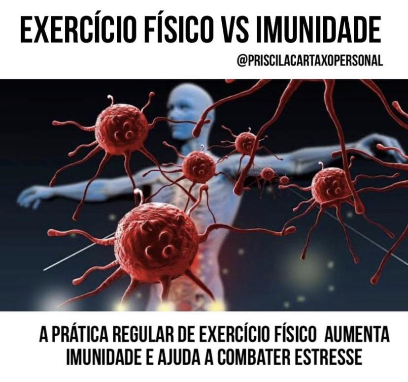A IMPORTÂNCIA DO EXERCÍCIO FÍSICO PARA A IMUNIDADE