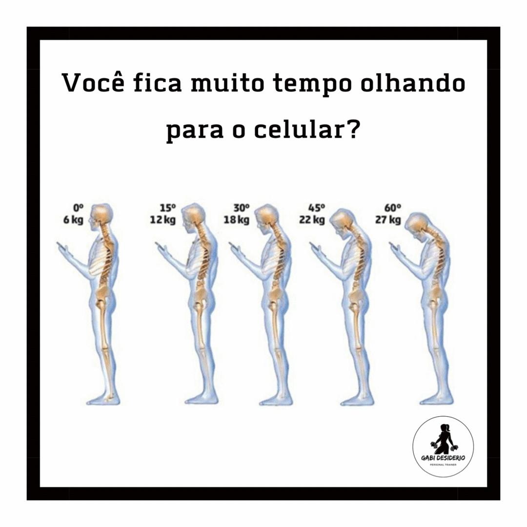 Você está muito tempo olhando no celular?