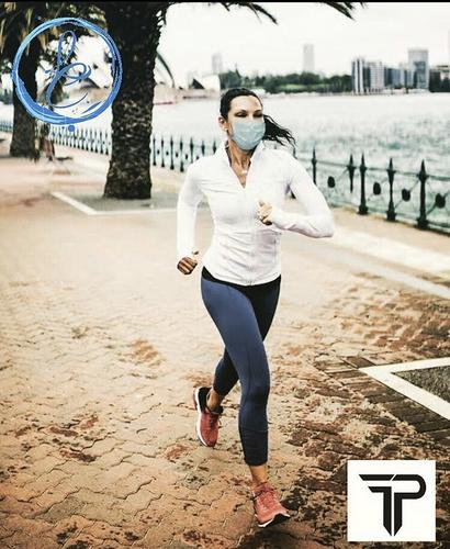 A pratica de exercícios utilizando máscara!