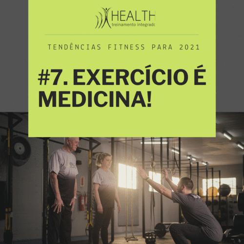 #ExerciseIsMedicine